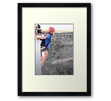 EXTREME Thrill's Framed Print