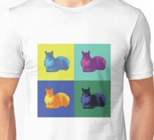 Pop Art Squirrels Unisex T-Shirt