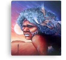 Aborigine Dreams Canvas Print
