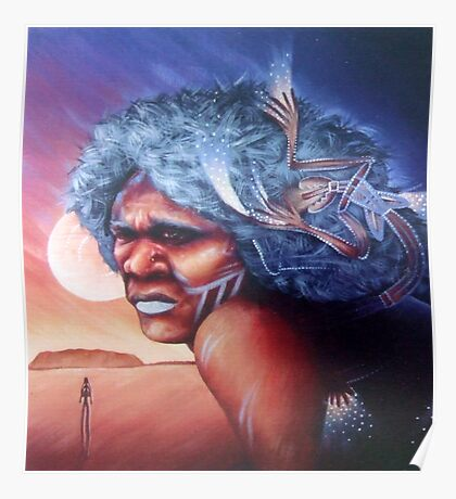 Aborigine Dreams Poster