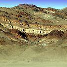 Painted Hills Nevada by SB  Sullivan
