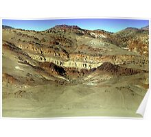 Painted Hills Nevada Poster