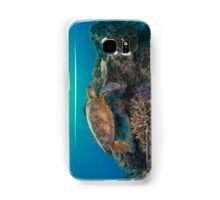 Sunset turtle Samsung Galaxy Case/Skin
