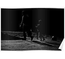 Following shadows Poster