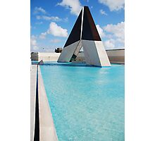 Ultramar memorial landmark in Lisbon Photographic Print