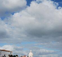 Phanteon or Santa Engracia church in Lisbon by luissantos84