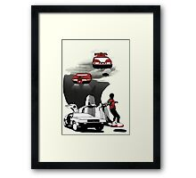 Future Time Framed Print