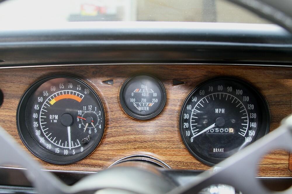 Dash gauges, car running by devinhouston