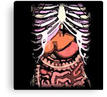 Human Body: An Inside Look Canvas Print