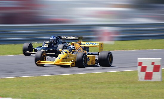 Lotus Type 79 and 102T  by Nigel Bangert