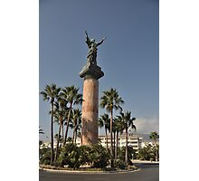 Puerto Banus Victory statue Photographic Print