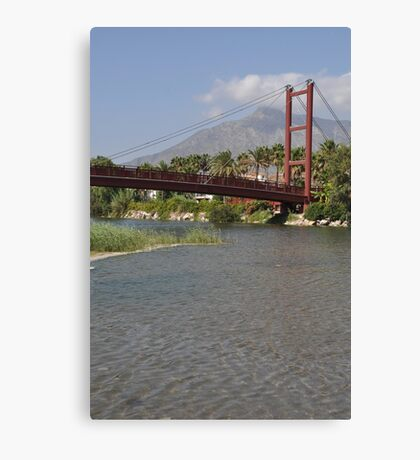Puerto Banus bridge Canvas Print