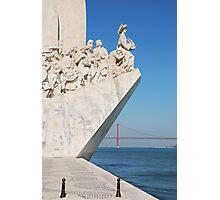 Monument to the Discoveries in Lisbon Photographic Print
