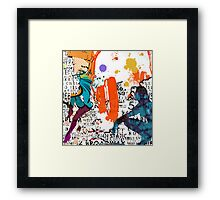 POP DANCE Framed Print