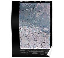 USGS Topo Map Washington State WA Mount Hull 20110429 TM Inverted Poster