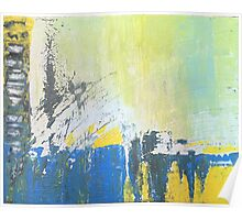 Abstract Expressionist Poster
