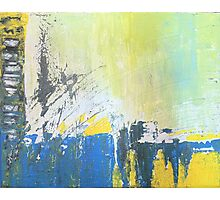 Abstract Expressionist Photographic Print