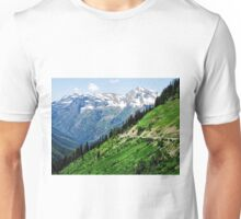 Top of the World at Glacier National Park Unisex T-Shirt