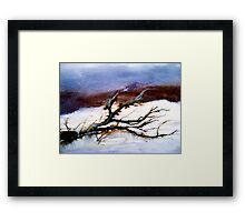 Casualty.... Framed Print