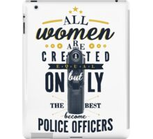 All Women are Created Equal... iPad Case/Skin