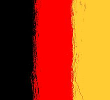 Germany flag grunge  by homydesign
