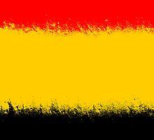 Belgium flag grunge  by homydesign