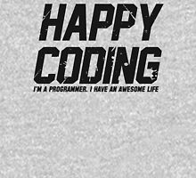 Programmer : Happy Coding Unisex T-Shirt