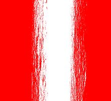 Austria flag grunge  by homydesign