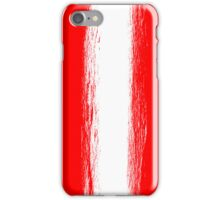 Austria flag grunge  iPhone Case/Skin