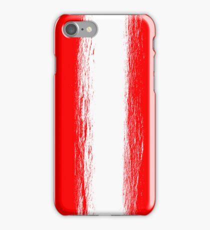 Austria flag grunge  iPhone Case/Skin