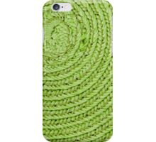 Circular background iPhone Case/Skin
