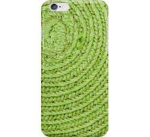 Circular background iPhone Case/Skin