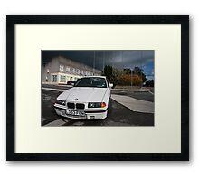 BMW 3 series Framed Print