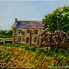 &quot;Deserted Dwellings, Araboy, County Antrim.&quot; by Laura Butler