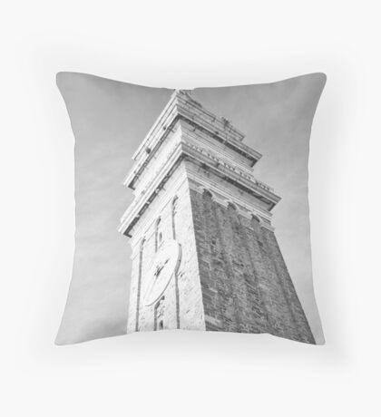 A Church in Pirano. Throw Pillow
