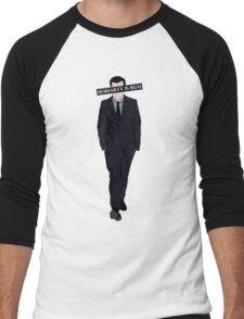 Moriarty Is Real Men's Baseball ¾ T-Shirt