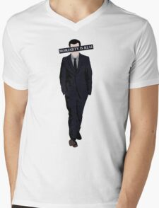 Moriarty Is Real Mens V-Neck T-Shirt