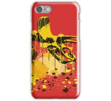 Drip Dry Triceratops iPhone Case/Skin