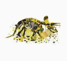 Drip Dry Triceratops Kids Tee