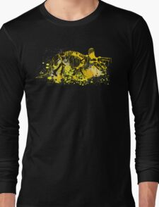 Drip Dry Triceratops Long Sleeve T-Shirt