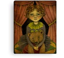 Gemma & Daisy - The Incredible Bear Act Canvas Print