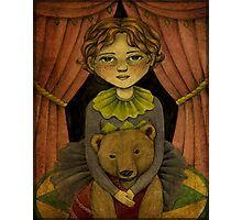 Gemma & Daisy - The Incredible Bear Act Photographic Print