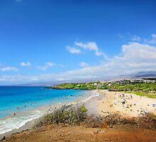 Hapuna Beach by Ticker