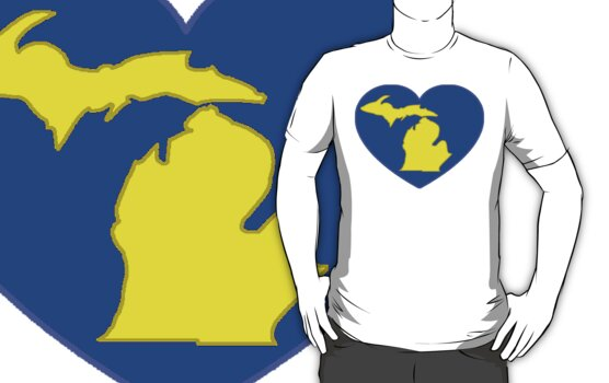 I LOVE MICHIGAN by S DOT SLAUGHTER