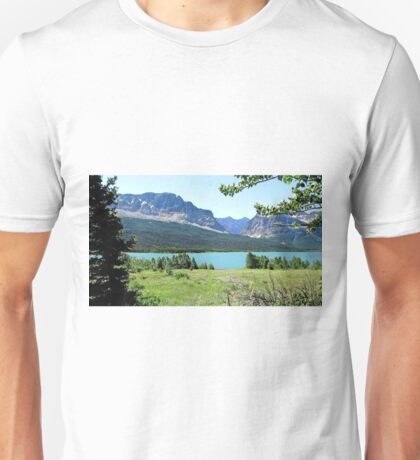 Lake Sherbourne, Glacier National Park Unisex T-Shirt