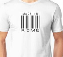 Made in Rome Unisex T-Shirt