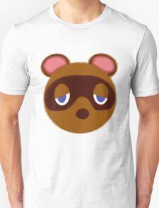 Tom Nook Animal Crossing Hand Drawn Style Design  T-Shirt