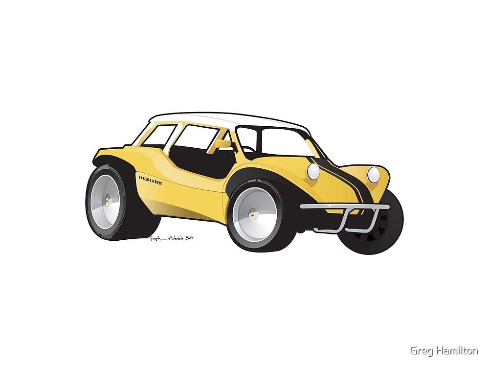 Manxter 2+2 Dune Buggy by Greg Hamilton