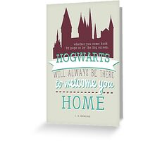 J.K Rowling quote Greeting Card