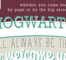 J.K Rowling quote Sticker